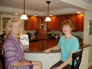 Debbie and JoAnn