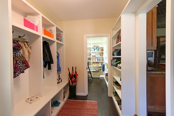 Pantries, Built-ins and Bookcases